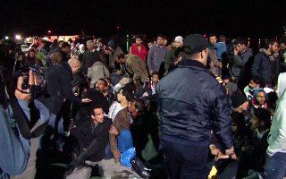 Η Χίος έχει γίνει... το επίκεντρο των αφίξεων προσφύγων και μεταναστών στο Αιγαίο και οι αρχές φοβούνται έκρηξη επεισοδίων.