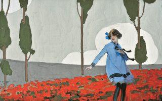 """Οι «Παπαρούνες»  (1919) του Οθωνος Περβολαράκη (1887-1974), ενός από τα λιγότερο προβεβλημένα αλλά ιδρυτικά μέλη της «Ομάδας """"Τέχνη""""»."""