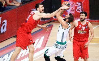 Ο Νίκος Παππάς έκανε χθες τη διαφορά για τον Παναθηναϊκό και μαζί με τον Μπουρούση πήραν τη νίκη με 84-80.