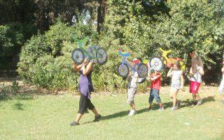 Προγράμματα δημιουργικής απασχόλησης για παιδιά από αυτό το τριήμερο στον Εθνικό Κήπο.