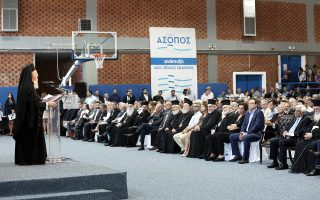 Σε ένα νέο μέλλον, χωρίς ρύπανση, μπορούν πλέον βάσιμα να προσβλέπουν οι πολίτες στην περιοχή του Ασωπού. Χθες, ο περιφερειάρχης Στερεάς Ελλάδας Κώστας Μπακογιάννης παρουσίασε το σχέδιο απορρύπανσης του ποταμού, παρουσία του Προέδρου της Δημοκρατίας Προκόπη Παυλόπουλου, του Οικουμενικού Πατριάρχη κ. Βαρθολομαίου και υπουργών της κυβέρνησης.