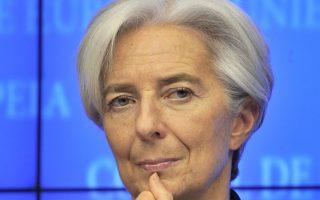 «Εάν οι πιστωτές της Ελλάδας δεν είναι ακόμη έτοιμοι να αποδεχθούν τις εκτιμήσεις μας, εάν χρειάζονται περισσότερο χρόνο, τότε μπορεί να τους δοθεί περισσότερος χρόνος. Μπορεί λοιπόν να υπάρξει ένα πρόγραμμα, που η εκταμίευση χρημάτων από το Ταμείο θα γίνει μόνο όταν οι πιστωτές σκιαγραφήσουν με σαφήνεια τα μέτρα ελάφρυνσης του χρέους» τόνισε η επικεφαλής του ΔΝΤ Kρ. Λαγκάρντ σε συνέντευξή της στη Handelsblatt.