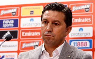 Επιθετικό ποδόσφαιρο υποσχέθηκε ο Αλβανός προπονητής των «ερυθρολεύκων».