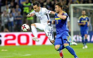 Η Ελλάδα κράτησε απόσταση ενός βαθμού από τη Βοσνία με το  0-0, όμως οι Βόσνιοι κινδυνεύουν με βαριά ποινή για όσα έγιναν  το βράδυ της Παρασκευής.