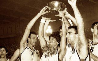 Η «άγια νύχτα» του ελληνικού αθλητισμού. Η νίκη στην παράταση του τελικού του Ευρωμπάσκετ, κόντρα στην τότε Σοβιετική Ενωση και η κατάκτηση του χρυσού μεταλλίου, ήταν αρχή της εκτόξευσης του ελληνικού μπάσκετ.