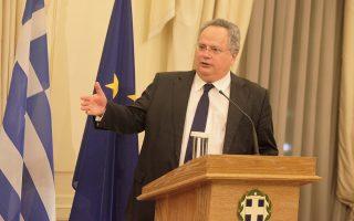 Ο υπουργός Εξωτερικών δήλωσε ότι ο ίδιος δεν έχει την αρμοδιότητα να απαντήσει επί του ζητήματος των επαναπροωθήσεων.