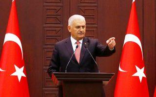 Το μεταναστευτικό, οι ελληνοτουρκικές σχέσεις και το Κυπριακό στην ατζέντα των επαφών του Τούρκου πρωθυπουργού Μπιναλί Γιλντιρίμ με τον Πρόεδρο της Δημοκρατίας Πρ. Παυλόπουλο και τον πρωθυπουργό Αλ. Τσίπρα.