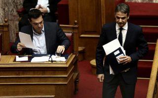 Ο κ. Κυριάκος Μητσοτάκης και ο κ. Αλ. Τσίπρας έχουν διαφορετική προσέγγιση σε πολλά θέματα και προτεραιότητες της οικονομίας.