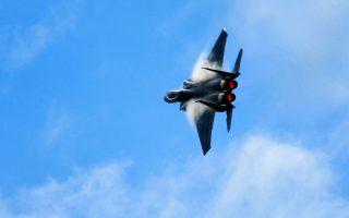 Αεροσκάφος F-15 της αμερικανικής πολεμικής αεροπορίας, όμοιο με αυτά που θα αποκτήσει το Κατάρ.
