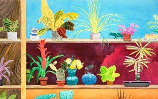 Εργα ζωγραφικής του Αντώνη Στάβερη στο «Φουγάρο» του Ναυπλίου.