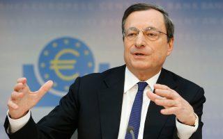 «Εξακολουθούν να υφίστανται σοβαροί προβληματισμοί σχετικά με τη βιωσιμότητα του ελληνικού δημόσιου χρέους», ανέφερε ο πρόεδρος της Ευρωπαϊκής Κεντρικής Τράπεζας Μάριο Ντράγκι.