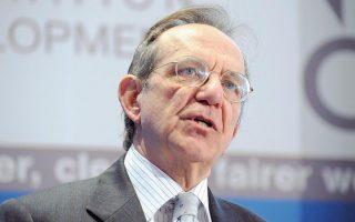 O υπουργός Οικονομικών της Ιταλίας Πιερ Κάρλο Παντοάν.