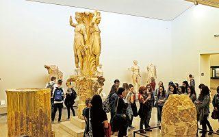 Αρχαιολογικό Μουσείο Δελφών.  (Φωτογραφία: ΝΙΚΟΣ ΚΟΚΚΑΣ)