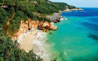 Η παραλία του Μυλοποτάμου, αγαπημένη των ντόπιων, στο Ανατολικό Πήλιο. (Φωτογραφία: VISUALHELLAS.GR)