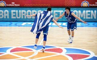 Οι Ελληνίδες παίκτριες πέρασαν και το εμπόδιο της Ρωσίας στο Ευρωμπάσκετ. Σήμερα περιμένει η Τουρκία.