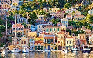 Ο Γιαλός, το λιμάνι της Σύμης. (Φωτογραφία: GETTY IMAGES/IDEAL IMAGE)