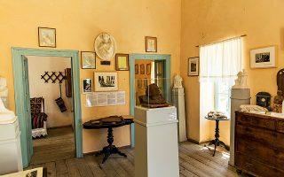 Το σπίτι όπου έζησε ο γλύπτης Γιαννούλης Χαλεπάς σήμερα λειτουργεί ως μουσείο. (Φωτογραφία: ΔΗΜΗΤΡΗΣ ΒΛΑΪΚΟΣ )