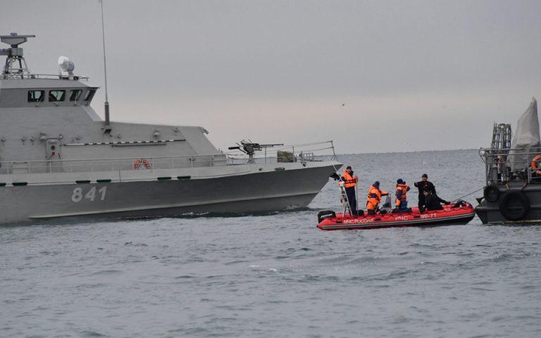 Ρωσία: Από «λάθος του πιλότου» πιθανότατα η συντριβή του Τουπόλεφ στη Μαύρη Θάλασσα