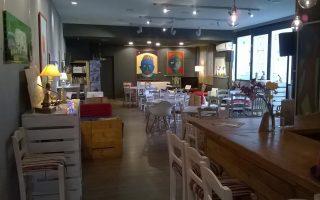 Στο καφέ «Μύρτιλλο» εργάζονται αποκλειστικά άτομα από ευπαθείς ομάδες.