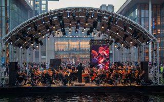 Με την Κρατική Ορχήστρα Αθηνών «μέσα» στο νερό του Καναλιού ξεκίνησε το Summer Nostos Festival στο Κέντρο Πολιτισμού Ιδρυμα Σταύρος Νιάρχος.