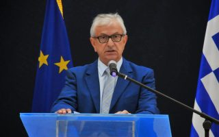 O πρόεδρος της Ενωσης Ελλήνων Εφοπλιστών, κ. Θάνος Βενιάμης.