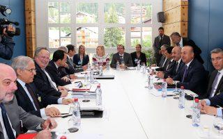 Συνεχίστηκε και χθες, για έκτη ημέρα, η διάσκεψη για το Κυπριακό στο θέρετρο Κραν-Μοντανά της Ελβετίας.