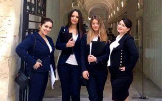 Την 5η θέση στον διαγωνισμό εικονικής δίκης στο αεροπορικό δίκαιο, στη Βαλέτα της Μάλτας, κατέλαβε η ομάδα της Νομικής Σχολής Αθηνών.