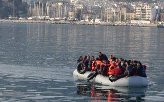 Μόνο από τις 30 Ιουνίου έως και τις 5 Ιουλίου έφθασαν στα ελληνικά νησιά 475 μετανάστες, σύμφωνα με τα επίσημα στοιχεία.