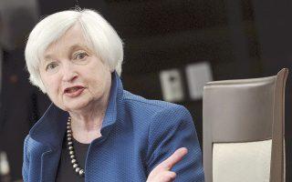 Η κ. Γέλεν είπε χθες πως η αμερικανική οικονομία, παρόλο που συνεχίζει να αναπτύσσεται με αργό ρυθμό, εξακολουθεί να προσθέτει θέσεις εργασίας, καθώς ευνοείται από τη σταθερή κατανάλωση και την πρόσφατη αύξηση των επενδύσεων.