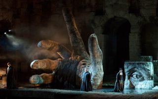 Δύο ακόμη παραστάσεις για τον «Τροβατόρε» από την Εθνική Λυρική Σκηνή στο Ηρώδειο.