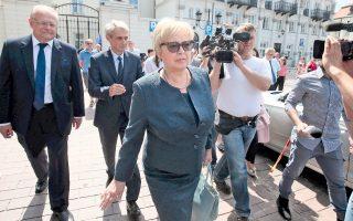 Τα μέλη του προεδρείου του ανώτατου δικαστηρίου της Πολωνίας συνεχάρησαν τον πρόεδρο Ντούντα για το βέτο.