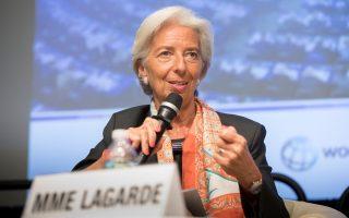 H κ. Λαγκάρντ είναι ιδιαίτερα προσεκτική όταν αναφέρεται στον ρόλο που διαδραματίζουν οι ΗΠΑ στο ΔΝΤ, αλλά δεν μπορεί και να παραβλέψει τη δυναμική των αναδυόμενων οικονομιών και των χωρών χαμηλού εισοδήματος.