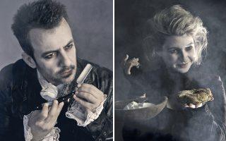 Ο βαρύτονος Χάρης Ανδριανός και η ηθοποιός Νάντια Κοντογεώργη πρωταγωνιστούν στους ρόλους του κουρέα και της συντρόφου του.