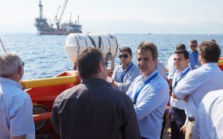 Τις εγκαταστάσεις της Energean Oil & Gas στον Πρίνο Θάσου επισκέφθηκε χθες ο Κυρ. Μητσοτάκης.