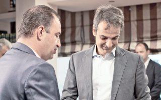 Κατά τη διάρκεια της περιοδείας του στην Ανατ. Μακεδονία, ο πρόεδρος της Νέας Δημοκρατίας Κυρ. Μητσοτάκης συναντήθηκε με τον δήμαρχο Παγγαίου και το δημοτικό συμβούλιο.