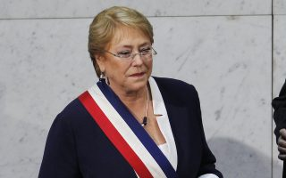 Η Μισέλ Μπατσελέτ είναι η τελευταία γυναίκα αρχηγός κυβέρνησης τόσο στη Νότια, όσο και στη Βόρεια Αμερική.
