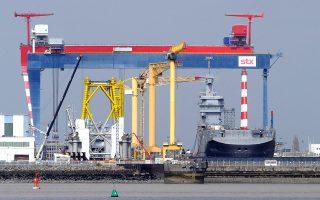Στα ναυπηγεία της STX France του Σεν Ναζέρ είχε ναυπηγηθεί το 2014 το πλοίο αμφίβιων αποστολών τύπου Mistral.