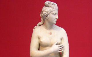 Μαρμάρινο άγαλμα Αφροδίτης 2ου αι. μ.Χ. (ΕΑΜ 3524).