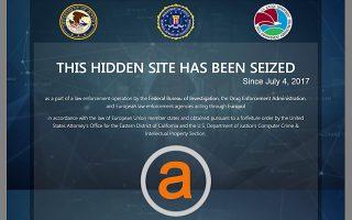 Οι μεγαλύτερες ιστοσελίδες του σκοτεινού Διαδικτύου έκλεισαν έπειτα από αστυνομική έρευνα.