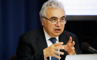 Ο επικεφαλής της Διεθνούς Υπηρεσίας Ενέργειας, Φατίχ Μπιρόλ.