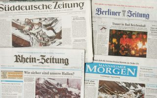 Οι Γερμανοί εκδότες ζητούν από την Google 1,3 δισ. ευρώ, για το διάστημα 2013-2017, για τη χρήση τίτλων και περιεχομένου των γερμανικών εφημερίδων.
