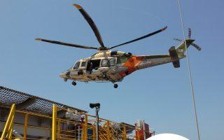 Πτήσεις ελικοπτέρων της Κυπριακής Δημοκρατίαςπρος την πλατφόρμα West Capella.