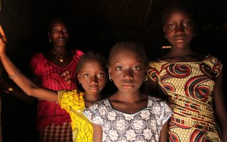 epa05143957 An undated handout picture made available by The United Nations Children's Fund (UNICEF) on 05 February 2016 shows a woman and her daughters standing in their home, in the village of Cambadju in Bafata Region, Guinea-Bissau. Their village is the first in the country to renounce female genital mutilation/cutting (FGM/C). At least 200 million girls and women, currently living in around thirty countries, have suffered female genital mutilation (FGM), according to a statement published by Unicef. The figure increased by around 70 million compared to the latest estimates in 2014 because of more data gathered from countries where there is high prevalence of the practice, such as Indonesia, and because of population growth in some places. The study, published on 05 February 2016, prior to the 'International Day of Zero Tolerance for Female Genital Mutilation,' points out that half of the cases are found in only three nations: Egypt, Ethiopia and Indonesia. Of the total, around 44 million of the victims are girls aged 14 or younger from countries where the prevalence of FGM in this age group exceeds 50 percent. Of all girls and women aged between 15 and 49 today, nearly all Somali (98 percent) and Guinea (97 percent) women have suffered genital mutilation. According to Unicef, opposition to the practice is gaining strength and its use has significantly decreased in some countries such as Libya, Burkina Faso, Kenya and Egypt in the past decades. Since 2008, more than 15,000 communities and districts in 20 countries have declared themselves against FGM. Five countries have passed laws that establish the practice as a crime.  EPA/UNICEF/LEMOYNE MANDATORY CREDIT: UNICEF/LeMoyne -- Images are available to bona fide media for reports on UNICEF or related issues.  Content may not be changed by digital or other means, nor can it be used in any commercial context.  Images must be credited as stated. HANDOUT EDITORIAL USE ONLY/NO SALES