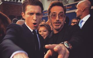 Ο Robert Downey Jr. με το URWERK UR-110 RG και ο