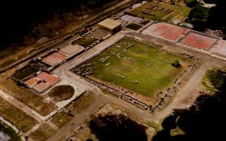 Στιγμιότυπο από την τρισδιάστατη χαρτογράφιση του αρχαιολογικού χώρου του ανακτόρου