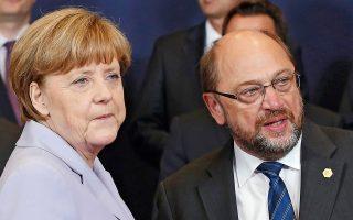 Αν Μέρκελ και Σουλτς σχηματίσουν κυβερνητικό συνασπισμό μετά τις εκλογές του Σεπτεμβρίου, τότε αναμένεται η στάση της Γερμανίας να είναι υπέρ μιας περαιτέρω συμφωνίας μετά τη λήξη του προγράμματος.