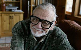 Σε ηλικία μόλις 28 ετών, ο Τζορτζ Α. Ρομέρο έγινε αυτοστιγμεί θρύλος για το σινεμά τρόμου, σκηνοθετώντας μία από τις κλασικότερες ταινίες του είδους, τη διαβόητη «Νύχτα των Ζωντανών Νεκρών». (Φωτ. A.P./AMY SANCETTA)