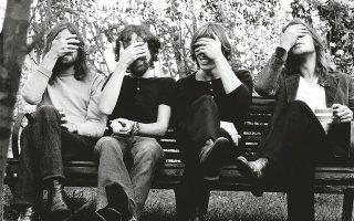 Λονδίνο: © Pink Floyd Music Ltd photo by Storm Thorgerson/Aubrey 'Po' Powell 1971 Belsize Park