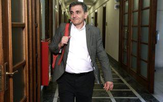 """Ευκλείδης Τσακαλώτος: «Ας αφήσουμε τις ελληνικές τράπεζες να επικεντρώσουν τις δυνάμεις τους στο να αντιμετωπίσουν τα """"κόκκινα"""" δάνεια και με αυτό τον τρόπο μπορούμε να είμαστε αισιόδοξοι ότι δεν θα χρειαστούν νέα κεφαλαιακή ενίσχυση»."""