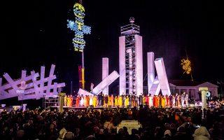 Η εντυπωσιακή έναρξη του καλοκαιρινού προγράμματος, που συγκέντρωσε περίπου 30.000 επισκέπτες.